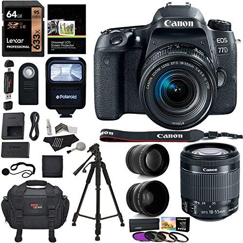 Canon EOS 77D Bundle 2
