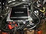 Harley Davidson Wiring Kit and Amplifier mount fits batwing bikes with aftermarket and stock radios for rockford PBR-300x2 & PBR-300x4 amps