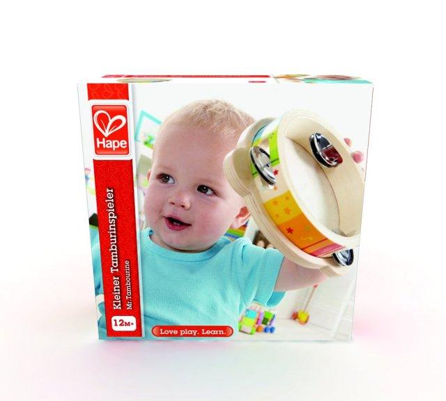 tambourin pour enfant Hape