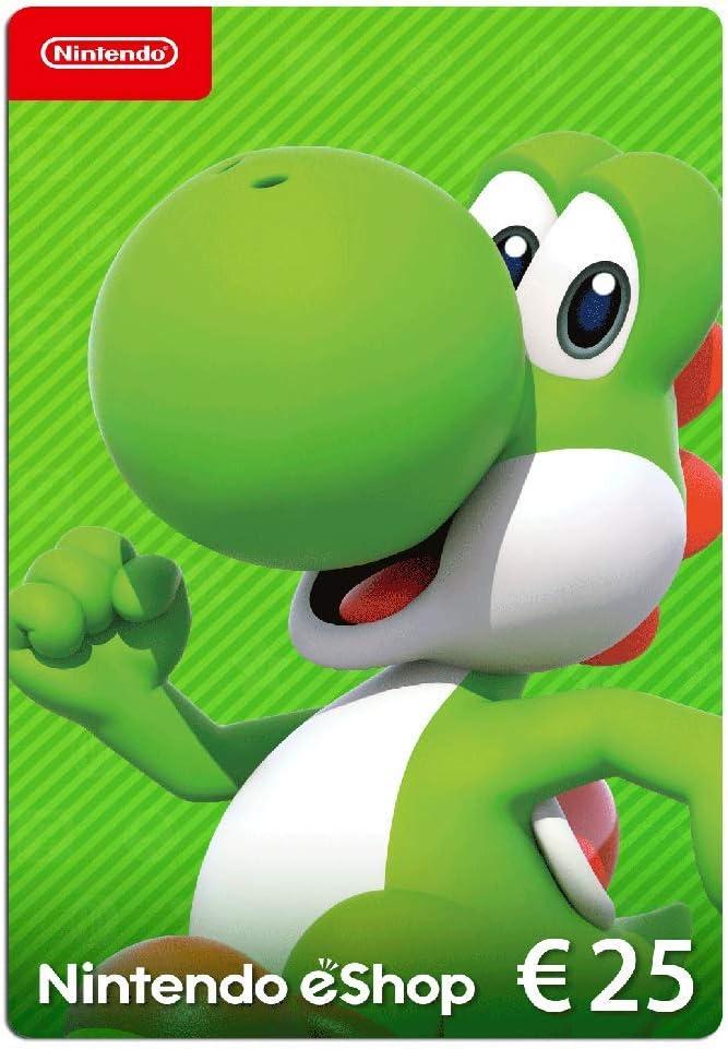 Nintendo eShop Carte cadeau 25 EUR - Code jeu à télécharger