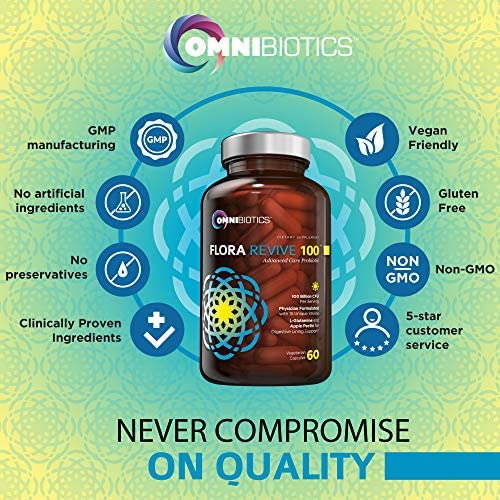 Probiotics 100 Billion CFU   Clinical Strength Probiotics for Women, Probiotics for Men   15 Strain Probiotic Supplement with Delayed Release Capsules (DRCaps) Plus Prebiotics and L-Glutamine 4