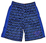 DC Comics Boys Superman Logo S Pattern Athletic Shorts, Blue (S 6/7)