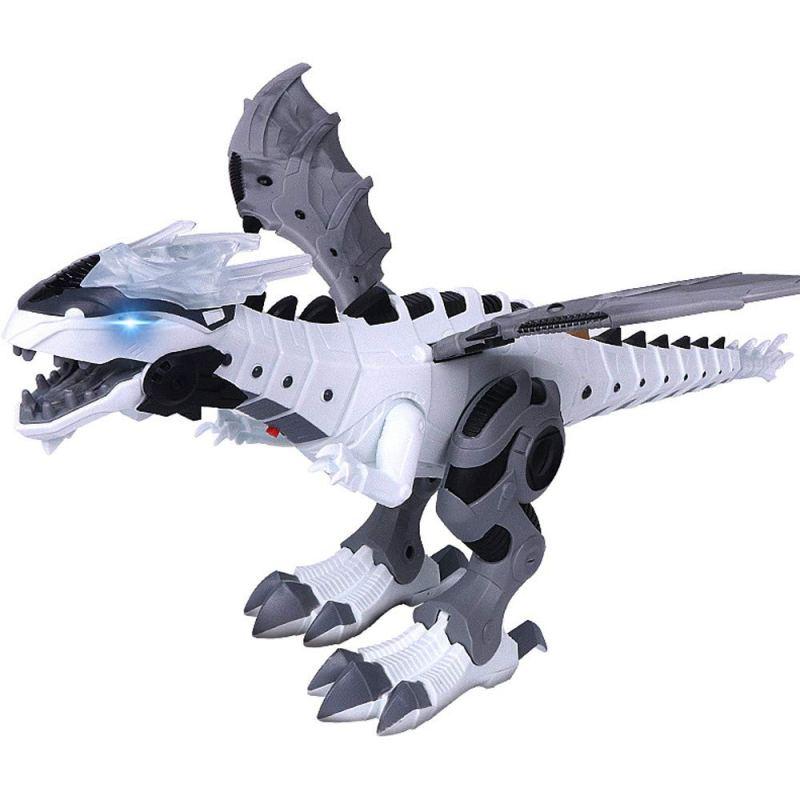 Walking Dragon Toy Fire Breathing Water Spray Dinosaur
