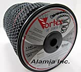 A Original Black Vortex .095 Commercial Trimmer Line 5-Lbs. Large Spool 1140 Feet, MADE IN USA