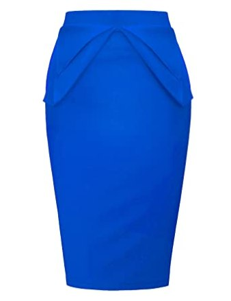 Image result for PrettyWorld Vintage Dress Women's Slim Fit Midi Pencil Skirts for Office Wear