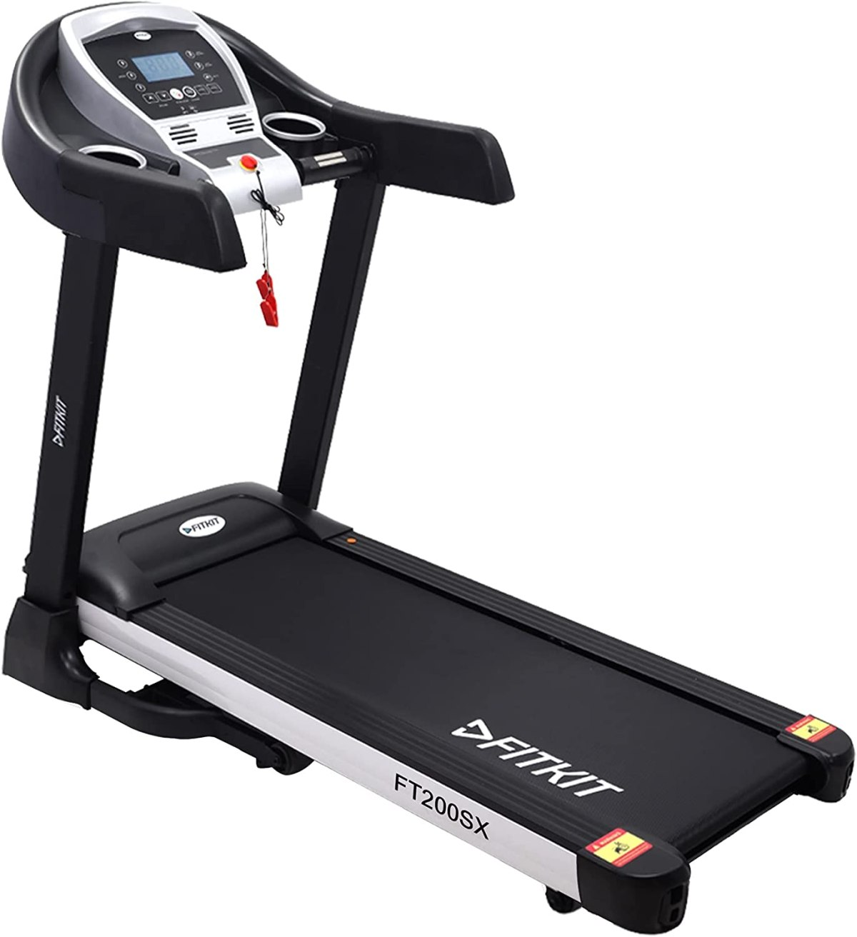 Buy Fitkit FT200SX 2.25HP (4.5HP Peak) DC-Motorised Treadmill ( Max  Speed:14km/hr, Max Weight: 110 Kg ) With Free home installation and Free  Diet & Fitness Plan Online at Low Prices in India -