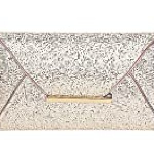 Jubileens Women Glitter Sequins Handbag Party Evening Envelope Clutch Purse Wallet (Gold)