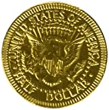 Fort Knox Milk Chocolate Gold Coins - 5 Lb Bulk Bag