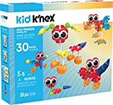 KID K'NEX - Zoo Friends Building Set - 55 Pieces - Ages 3 and Up - Preschool Educational Toy (Amazon Exclusive)