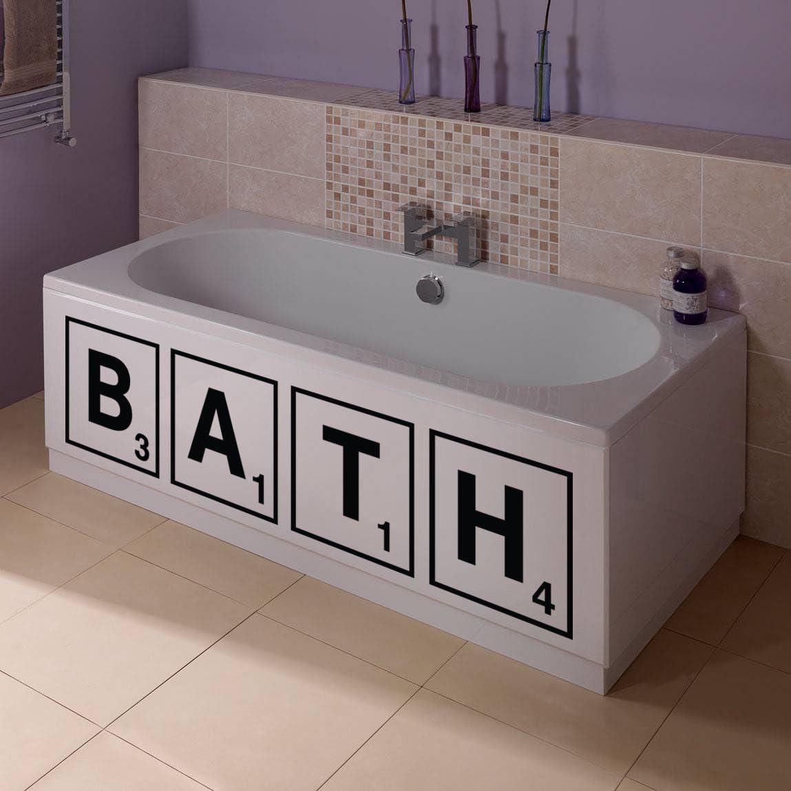 Bath Panel Scrabble Sticker Amazon Co Uk Diy Tools