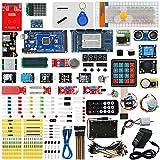 Seesii MEGA 2560 Ultimate Starter Kit with Tutorial for Arduino UNO R3 Nano Servo Motor, modules, sensors(230 Components)