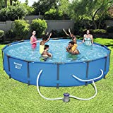 Bestway 56597E Steel Pro MAX Above Ground Pool, Blue