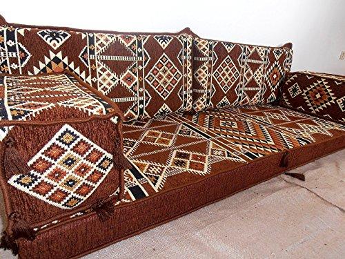 arabic seating,arabic cushions,arabic couch,jalsa,arabic majlis,oriental  furniture,bar decor,floor couch,floor sofa,sofa covers - MA 33
