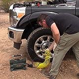 Superflow MV-89G Green Heavy Duty Tire Inflator, 12 Vot Portable Air Compressor for Trucks, SUVs, RVs & Trailers