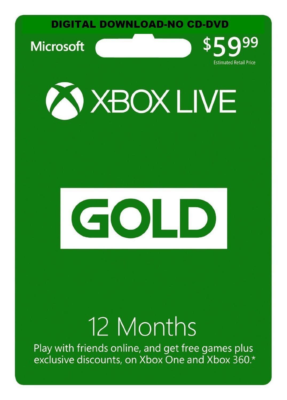 Abonnement Xbox Live Gold 12 mois [import europe]