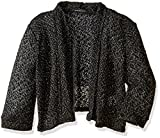 Product review for My Michelle Big Girls' Lightweight Crochet Knit Drape Front Sweater