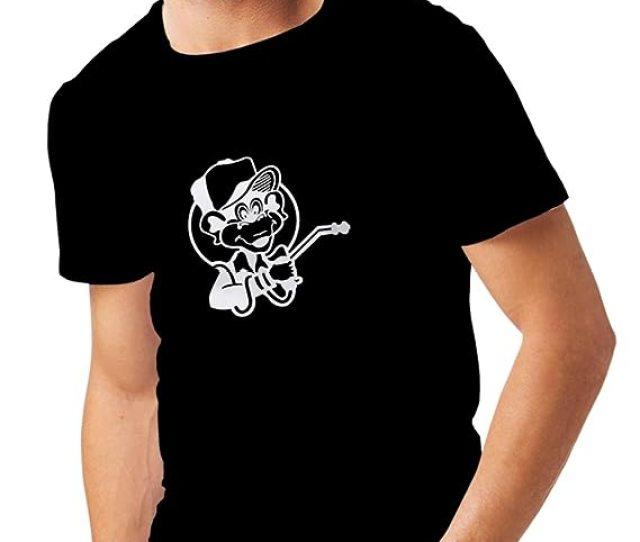 N4055 Mens T Shirt Funny Gas Monkey Xxxxx Large Black White