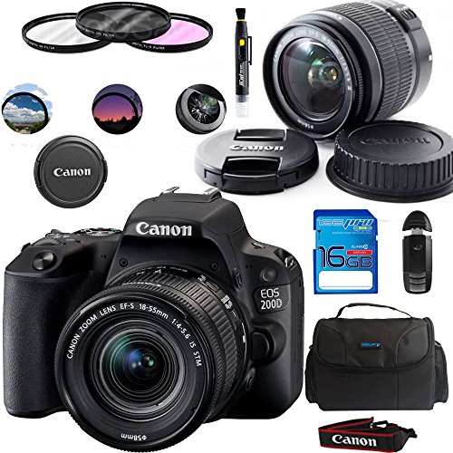 Canon-EOS-200D-SL2-Camera-with-EF-S-18-55mm-Lens-Black-Deal-Expo-Essential-Accessories-Bundle