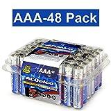 ACDelco AAA Super Alkaline Batteries in Reclosable Package, 48 Count