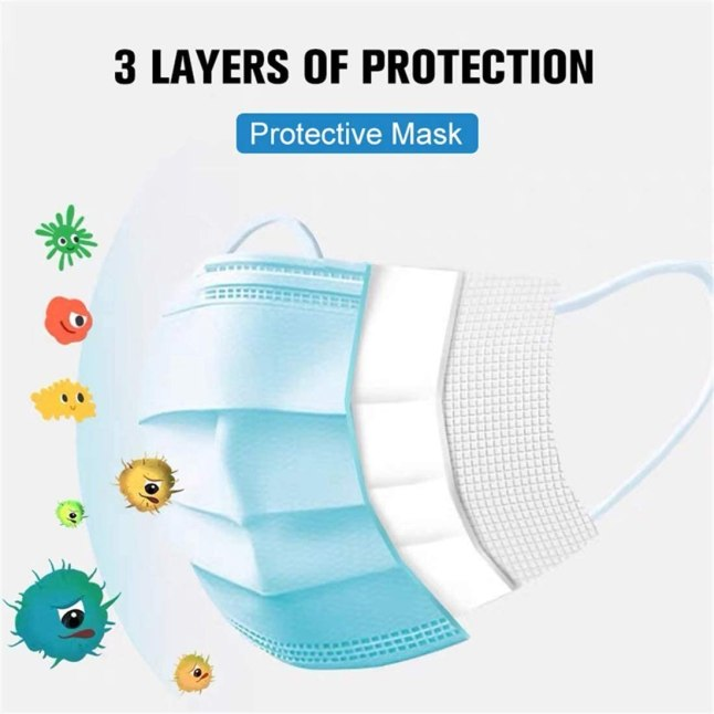 Covid 19 mask, Coronavirus protection mask