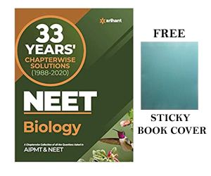 NEET Biology 33 Years Chapterwise Solution for 2021 NEET / AIPMT Exams by Arihant Publication with Free Sticky Book Cover [Paperback] Arihant NEET Experts and Fastbook Library