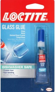 best budget glue fro glass - Loctite