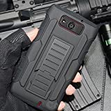 Cocomii Robot Armor Motorola Droid Maxx/Droid Ultra Case New [Heavy Duty] Premium Belt Clip Holster Kickstand Shockproof Bumper [Military Defender] Full Body Rugged Cover for Droid Maxx (R.Black)