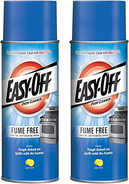 Amazon Com Easy Off Fume Free Oven Cleaner Spray Lemon 14 5 Oz Pack Of 2 Health Personal Care