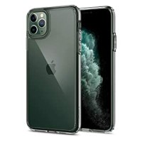 【Spigen】 iPhone 11 Pro ケース 5.8インチ 対応 背面 クリア 米軍MIL規格取得 耐衝撃 カメラ保護 衝撃吸収 Qi充電 ワイヤレス充電 ウルトラ・ハイブリッド 077CS27233 (クリスタル ・クリア)