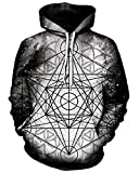 Product review for Chiclook Cool Chic Cool Unisex Hipster Geometric 3D Printed Hip Hop Hoodie Sweatshirt Pullover Coat Hoody