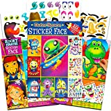 Make a Face Sticker Books for Kids Toddlers -- Set of 3 Jumbo Books with over 90 Faces and 1,000 Stickers (Sticker Face Activity Set).