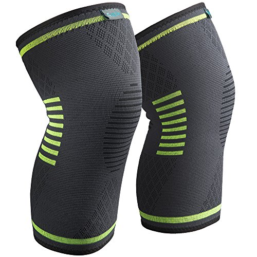 Sable Knee Brace Compression Sleeves 2 Pack FDA...