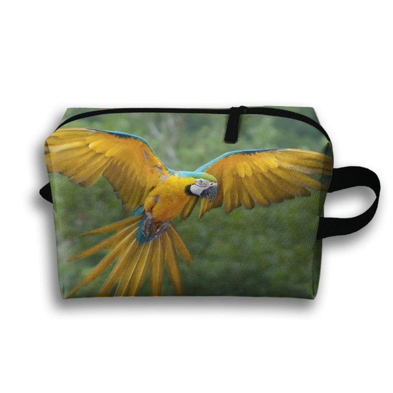 945486dfbe Michgton Cosmetic Bag Parrot Bird Flying Girls Simple Printing
