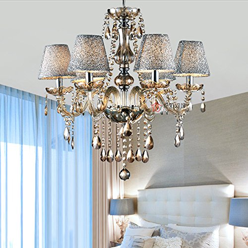 MAMEI-Luxurious-Modern-Crystal-Candle-Chandeliers-Lighting-Pendant-Ceiling-Lights-Fixture-Lamp-H236X-W2165-with-Lamp-Shade