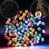 Solar-Lights-Outdoor-72ft-200-LED-Fairy-Lights-Ambiance-lights-for-Patio-LawnGarden-Home-Wedding-Holiday-Christmas-Xmas-Tree-decorationwaterproofTimerUSB-Charge