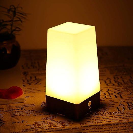 Nestling Led Rilevatore Di Movimento Lampada Da Tavolo Luce