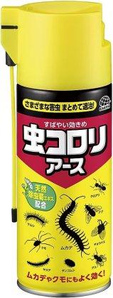 Amazon | 虫コロリアース エアゾール 不快害虫用殺虫スプレー [300mL ...