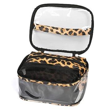Leopard Print Cosmetic Bag