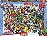 Marvel Heroes 1000 Piece Professional Puzzle 68 cm x 48 cm All Heroes Ages 12+