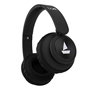 boAt Rockerz 450 Wireless Bluetooth Headphone (Luscious Black)