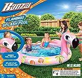 BANZAI Flamingo Splash Pool (Outdoor Backyard Aqua Summer Spring)