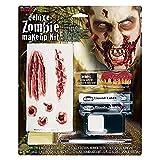 Fun World Deluxe Zombie Wound Halloween Costume Makeup Kit