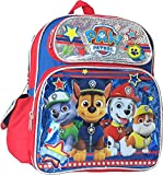 Paw Patrol Chase Marshall Rubble Rocky 12 inches Toddler Backpack