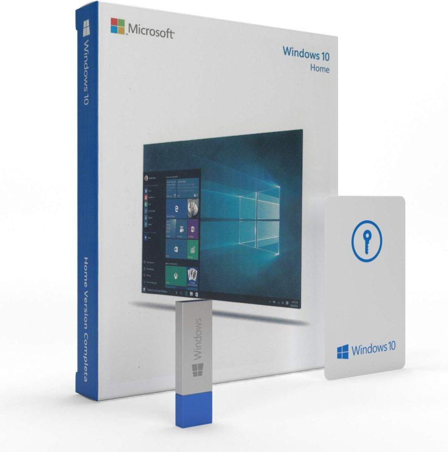 Windows 10 Home 64 bits Español | USB Flash Drive | Windows 10 Home Licencia | Spanish