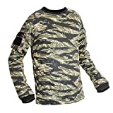 Valken Tactical Kilo Combat Shirt, Tiger Stripe, Large