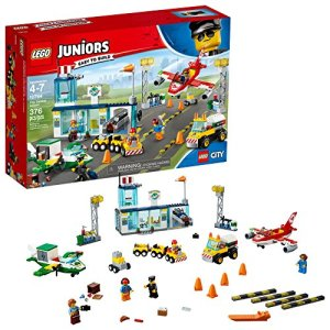 LEGO Juniors City Central Airport 10764 Building Kit (376 Pieces) 61YEV0ghJML
