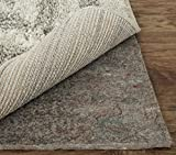 Mohawk Home Dual Surface Felt and Latex Non Slip Rug Pad, 2'x4', 1/4 Inch Thick, Safe for Hardwood Floors and All Surfaces