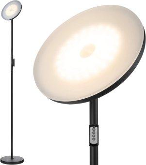 JOOFO Modern Torchiere Floor Lamp