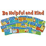 Eureka Back to School Dr. Seuss 'Be Helpful and Kind' Bulletin Board and Classroom Decorations, 23pc, 17'' W x 24'' H
