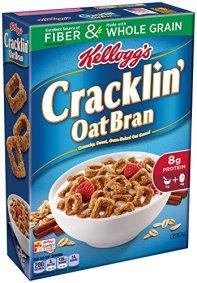 Kellogg's Cracklin' Oat Bran, 17 Oz